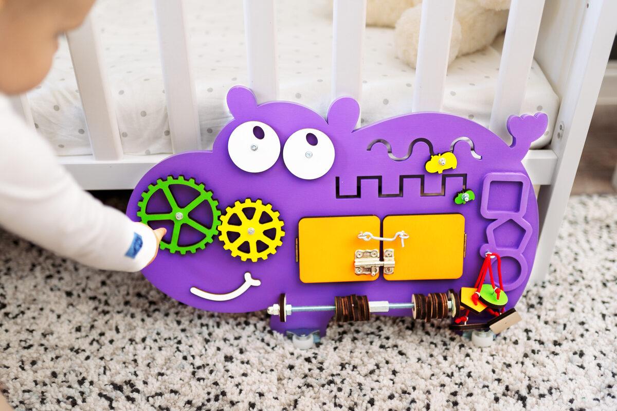 Busy Board Hippo